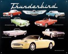 1955 Ford T-bird.