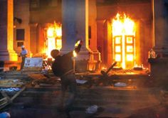 Γη και Ελευθερία.: Νεοναζιστική τρομοκρατία στην Οδησσό!