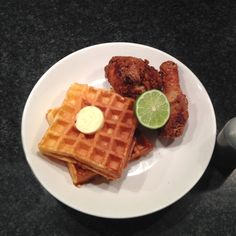 The Best Chicken and Waffles in the US: Ma Peche, NYC