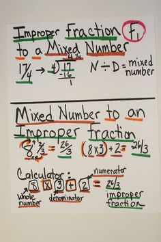Simple and to the point Improper Fraction -> Mixed Number conversion