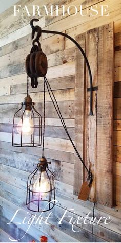 Absolutely Stunning Rustic Farmhouse Light Fixture! #ad This is simply amazing! Handmade, and incredibly beautiful! #farmhouse #farmhousestyle #farmhousedecor #homedecor #light #lightfixture #rustic #rusticdecor