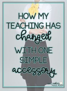 how my teaching has changed with one simple accessory – Education My Music Teacher, Math Teacher, Teacher Resources, Classroom Resources, Classroom Organization, Classroom Management, Classroom Ideas, Music Classroom, Class Management