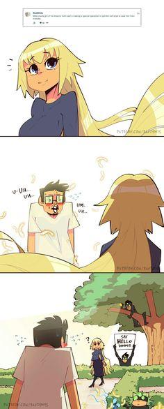 Randowis 2018 - Memes and stuff - Funny Funny Shit, Funny Cute, Funny Posts, Randowis Comics, Funny Cartoons, Funny Comics, Memes Humor, Rasengan Vs Chidori, Comic Manga