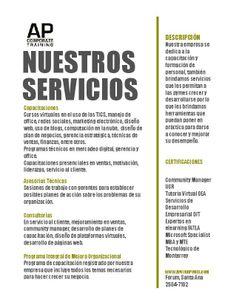 Servicios de la empresa AP Corporate Training
