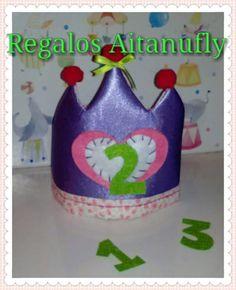 Corona cunpleaños