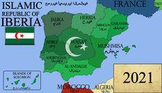 Fantasy Map Generator, Imaginary Maps, Alternate History, Fictional World, Still Image, Timeline, Islamic, Bielefeld