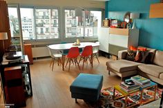 Appartement contemporain neo-vintage 74m2 - 75010 Paris, Espaces à Rêver - Côté Maison Projets