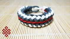 Sanctified with Endless Falls Stitching Paracord Bracelet Tutorial