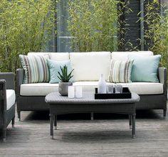Loom Lounge Sofa Deauville Für Den Outdoorbereich Gibt Es Als 2er  Und  3er Sofa
