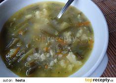 Polévka ze zelených fazolek recept - TopRecepty.cz