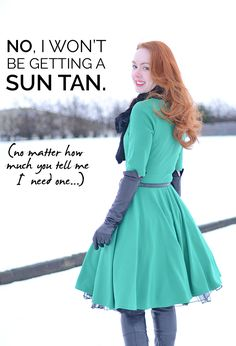 This is definitely Lily's attitude, despite living in Florida. pale and pround: why I won't be getting a sun-tan, no matter how much you tell me I need one Dark Hair Pale Skin, Long Dark Hair, Modern Haircuts, Fair Skin, Sexy Dresses, Wedding Hairstyles, Hair Cuts, Hair Color, Hair Beauty