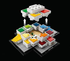 Lego architectuur-set viert opening Lego Experience Center - WANT