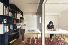 Ingenious and Highly Practical Mobile Wall Addition for Small Apartments - http://www.homesdecors.com/ingenious-and-highly-practical-mobile-wall-addition-for-small-apartments