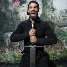 """While in Belfast for a WWE Live Event, Seth Rollins, Roman Reigns and Aleister Black visit the popular """"Game of Thrones"""" Touring Exhibition. Which Superstar can you see assume the Iron Throne? Wwe Seth Rollins, Seth Freakin Rollins, Wwe Pictures, Wwe Photos, Wrestling Stars, Women's Wrestling, Belfast, Game Of Thrones, Wwe Live Events"""