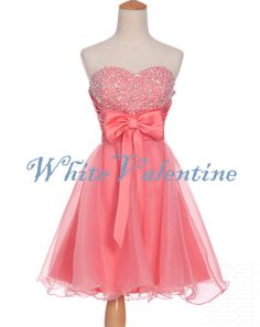 Hey, I found this really awesome Etsy listing at http://www.etsy.com/listing/173758403/short-sexy-coral-beaded-prom-dress-mint