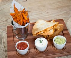Treat yourself to our famous Cajun Chicken Quesadillas with melted Monterey Jack cheese, guacamole, sour cream, salsa & sweet potato fries. It's no wonder it's one of our bestsellers! #healthyeating #gourmetfoodparlour #foodie #gfp #yummy #lunch #swords #dunlaoghaire #santry #37dawsonstreet #malahide