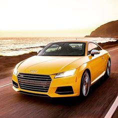 Forget the finish line—enjoy the coastline. #AudiTTS #PCH