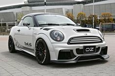"Superturismo LM 17"" (Black Custom Color) on Mini Cooper S Coupe' JCW by Duell AG"