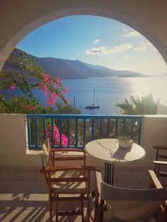 Unique Balcony, in unique paradise #amorgos #greece #authtraveljournalists