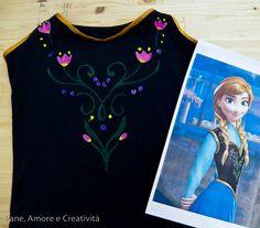 Come fare il costume da Anna di Frozen