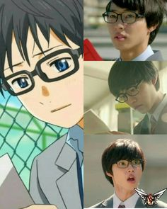 "Yamazaki Kento as Arima Kousei, J LA movie ""Your lie in April"", Sep/2016. I'm deliriously excited!"