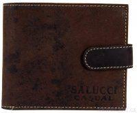 Pánská peněženka z broušené kůže 2795 hnědá