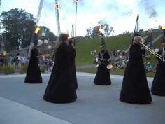 Fanfare le Snob.(Glissendo).  Music and Choreography.