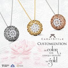 Auspicious as gold, Trendy as her, Find love only at caratstyle. #jewelry #gift…