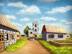 Minecraft Village by Algoinde.deviantart.com on @DeviantArt