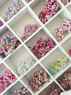 love this idea for floral supply storage