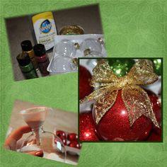 DIY Christmas Ornaments - so easy and pretty!