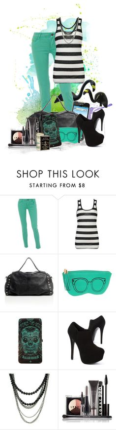 """""""Say Whaaaa...."""" by rorie-burke ❤ liked on Polyvore featuring Dorothy Perkins, Forever 21, LG, GUESS by Marciano, Rebecca Minkoff, Steve Madden, LORAC, Zippo and back2school"""