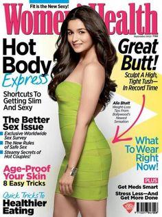 Alia Bhatt Latest Photo Shoot For Womens Health Magazine Cover Page Bollywood Photos, Bollywood Fashion, Indian Bollywood, Bollywood Bikini, Bollywood Actress Hot, Bollywood Actors, Alia Bhatt Photoshoot, Priyanka Chopra Hot, Alia Bhatt Cute