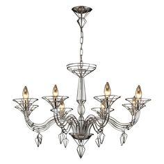 Have to have it. ELK Lighting Exo Chandelier 23002/8 - 37W in. $1350.00