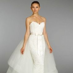 15 Beautiful New Wedding Dresses by Lazaro. Photos from Lazaro Fall 2013 Bridal.