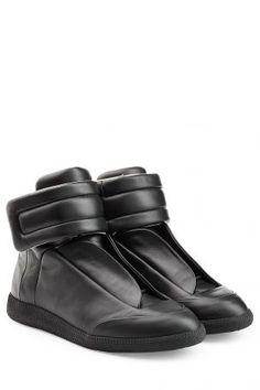 ba5c3ccf4a3555 Maison Margiela Maison Margiela High-Top-Sneakers Future aus Leder – Schwarz