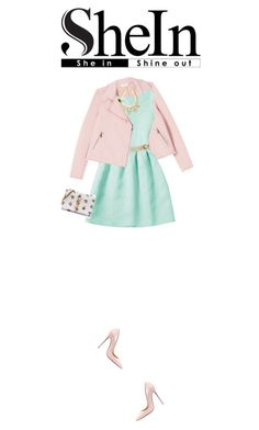 """""""Untitled #843"""" by redx1202 ❤ liked on Polyvore featuring Rebecca Taylor, Maison Mayle, BCBGMAXAZRIA, Christian Louboutin and Yves Saint Laurent"""