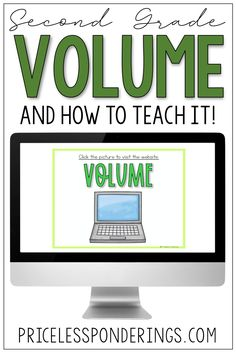 Looking for a way to introduce volume? This digital resource is perfect for teaching second grade kids how to measure volume and capacity. Capacity Activities, Hands On Activities, Classroom Activities, Vocabulary Sentences, Vocabulary Cards, Fact Slides, Fourth Grade Science, Independent Student, Teaching Second Grade