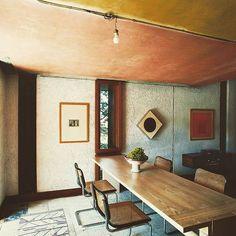 Modern Dining Room and Carlo Scarpa and Sergio Los in Bolzano, Italy Room Interior Design, Home Interior, Interior And Exterior, Furniture Design, Carlo Scarpa, My Living Room, Living Room Decor, Living Spaces, Design Jobs
