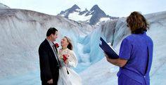 Alaska Wedding Elopement on a Glacier - Pearson's Pond Inn & Spa