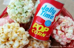 Memories by the Mile: Old Fashioned Popcorn Balls