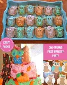 Craft Rookie: First Birthday: Owl Theme