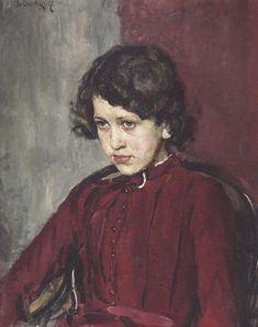 В.Серов. Портрет Прасковьи Мамонтовой, 1894 год. Частное собрание