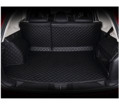Ya hee Waterproof Custom Fit Full Covered Trunk Mats Cargo Liners Leather Boots Liner Pet Mats for Buick Excelle GT (2015-2016, Black) -- Awesome products selected by Anna Churchill