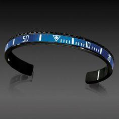 Speedometer Official Bracelet- Black Series, Blue