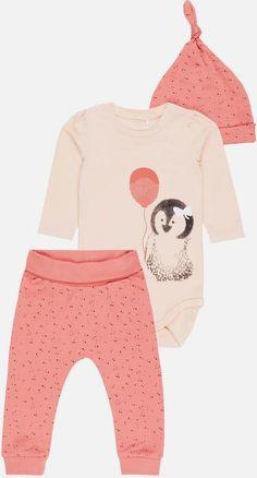 Chicks Gemusterte Strampler Jumpsuit Set für 55 cm Reborn Baby Girl Puppe Rebornpuppen & Zubehör