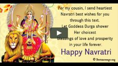 Navratri 2019 Special Whatsapp Status Video - Navratri Best wishes, Navratri Greetings Messages, Navratri Quotes You can find the best Navratri Messages and wishes… Navratri Pictures, Navratri Wishes Images, Navratri Messages, Navratri Quotes, Happy Navratri Images, Happy Navratri Status, Happy Navratri Wishes, Navratri Greetings, Chaitra Navratri