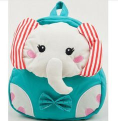 Baby  Elephant Design backpacks Child Kids Cute Cartoon backpacks Free shipping-in School Bags from Luggage & Bags on Aliexpress.com