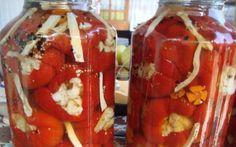 Retete Culinare - Gogosari umpluti cu conopida in otet
