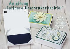 """Instructions for a """"foldable gift box"""" - {Conibaers creative desk} Constance's creative blog"""